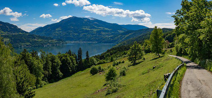 Carinthia, Lake, Millstättersee, Austria, Nature