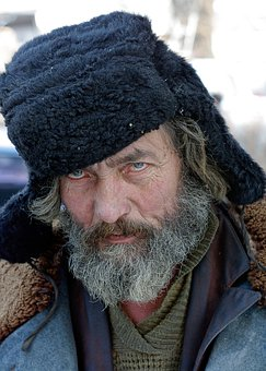 Cap, Man, Portrait, Cold, One, Beard, Person
