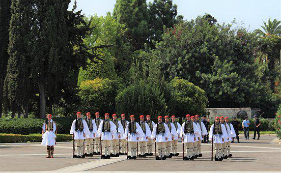 Athens, Guards, Parliament, Guard, Greek, Syntagma