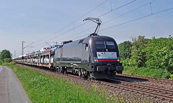 Car Train, Pkw, Railway, Transport, Freight Train