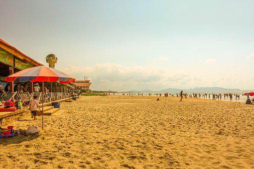 Beach, Summer, Hot, Sand, Swim, Sea, Ocean, Water