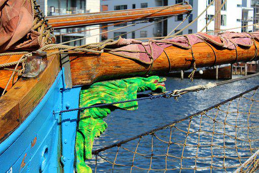 Offset, Bovspyd, Sails, Faroese Wooden Ship