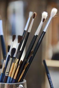 Schildersborstel, Brush, Painting, Painter, Artist