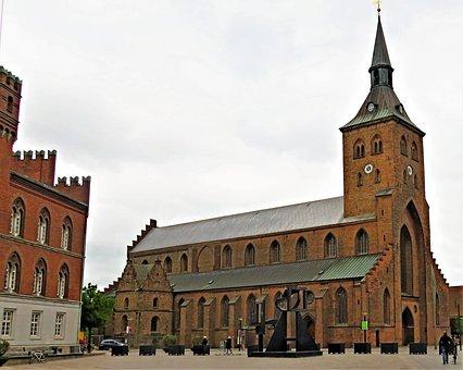 Church, Dom, St, Knuds, Odense, Denmark