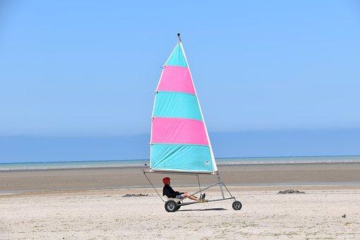 Char A Voile, Sport, Feeling, Speed, Freedom, Beach