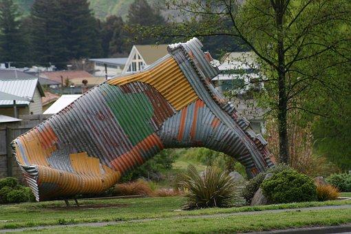 Taihape, New Zealand, Gum Boot Capital, Giant Boot