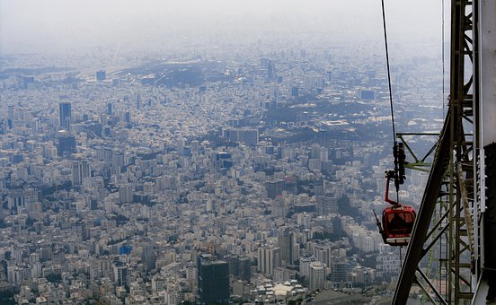 City, Bigcity, Height, Landscape, Buildings, Nikon