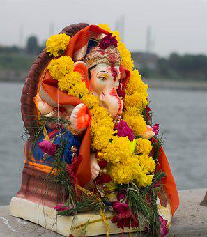 Lord Ganesha, Ganpati, Ganesha, God, Hinduism, Indian