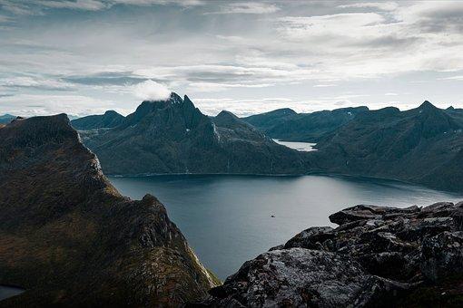 Norway, Night, Green, Sky, Borealis, Phenomenon, Nature