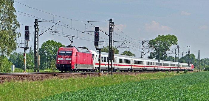 Intercity, Deutsche Bahn, Railway, Covering Sandwich