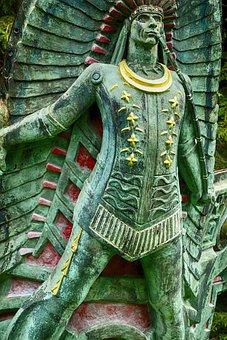 Figurehead, Front Man, Front Person, Sculpture