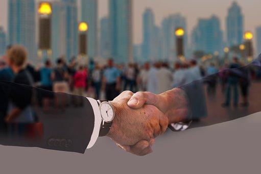 Handshake, Shaking Hands, Suit, Politician, Businessmen
