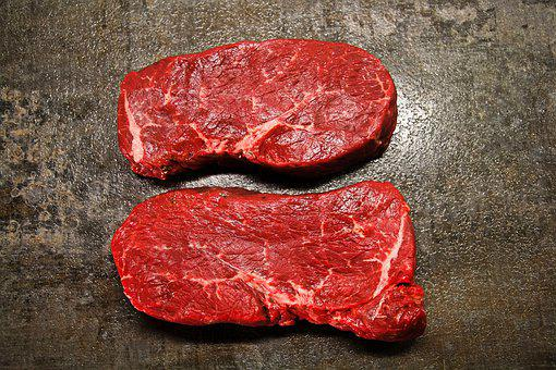 Meat, Beef, Steak, Grill, Barbecue, Nutrition, Raw