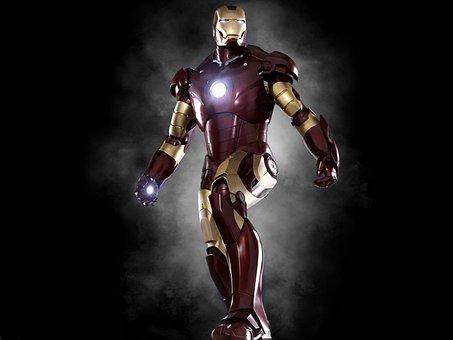Iron Man, Superhero, Edit, Hero, Man, Cartoon, Avengers