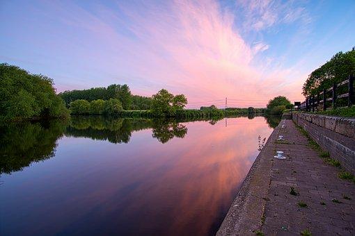 River Calder, River Aire, Castleford, West Yorkshire