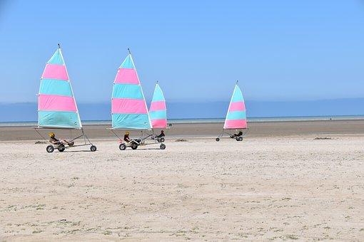 Landcraft, Feeling, Speed, Freedom, Wind, Beach, Sea