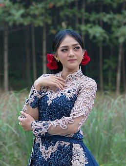 Women, Java, Gorgeous, Kebaya, Potrait, Glamour, Custom