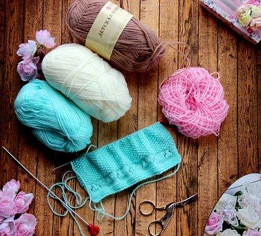 Knitting, Yarn, Needles, Wool, Hobby, Thread