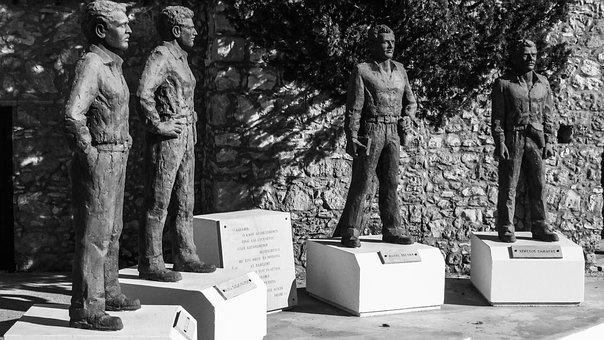 Heroes, Partisans, Achyronas, Monument, Museum, Eoka