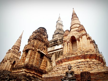 Ancient, Architecture, Art, Asia, Ayutthaya, Bangkok
