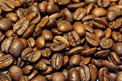 Bean, Background, Macro, Pattern, Food, Black, Drink