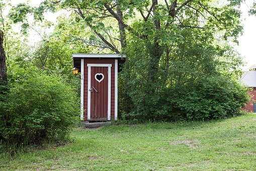 Outhouse, Country, Dry Toilet, Toilet, Wood, Rustic