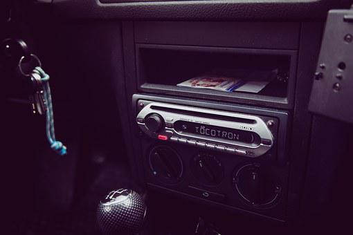 Auto, Radio, Music, Autoradio, Dashboard, Sound System