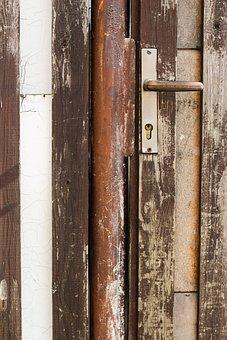 Door, Handle, Open, Travel, Path, Long Way, Distance