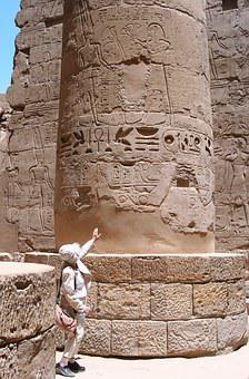Egypt, Luxor, Karnak Temple, Hieroglyph, Ancient