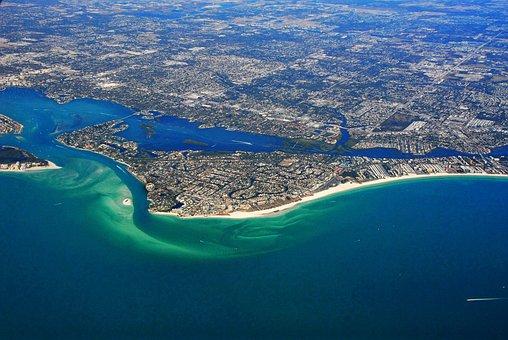 Siesta, Key, Florida, Beach, Ocean, Vacation, Tropical