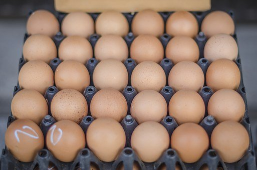 Eggs, Food, Easter, Breakfast, Cook, Brown, Fresh