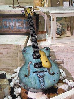 Electric Guitar, Wall Art, Instrument, Electric, Guitar