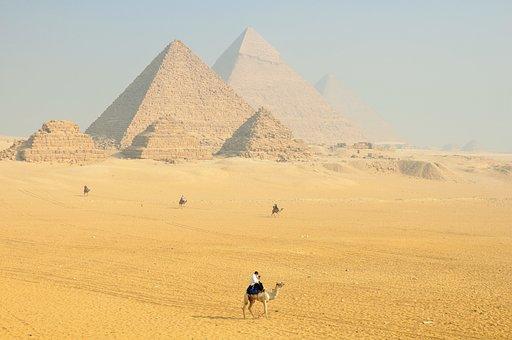 Sphinx, Egypt, Hieroglyphs, Temple, Pierre, History