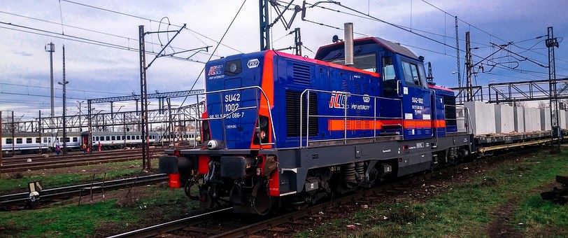 Train, Package, Locomotive, Freight, Pkp, Shunting