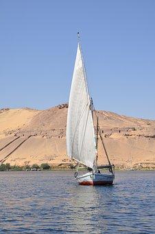 Felucca, Boat, Nile, Egypt, Navigation, Travel, River