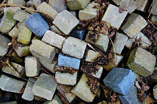 Brick, Stone, Block, Heap, Pile, Pile Of Bricks