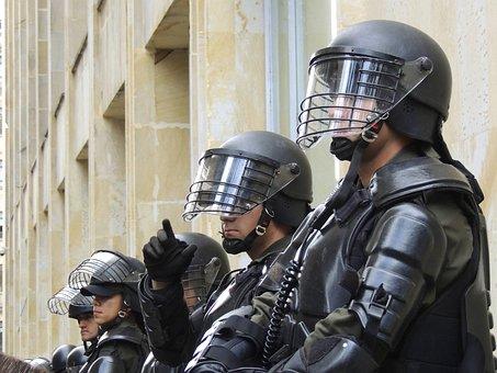 Police, Bogota, Riot, Swat, Special Forces