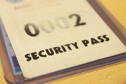 Security, Pass, Id, Key Card, Key, Door, Entry, Sign