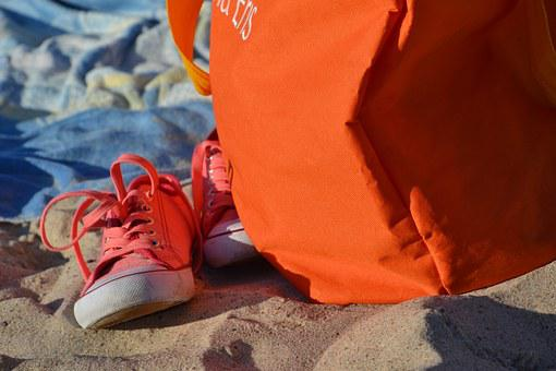 Sneakers, Beach, Trampy, Shoes, Sports Shoes, Sports