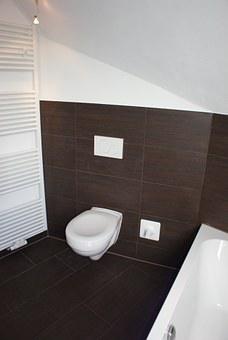 Toilet, Wc, Loo, Bathroom, Space, Tiles, Bad
