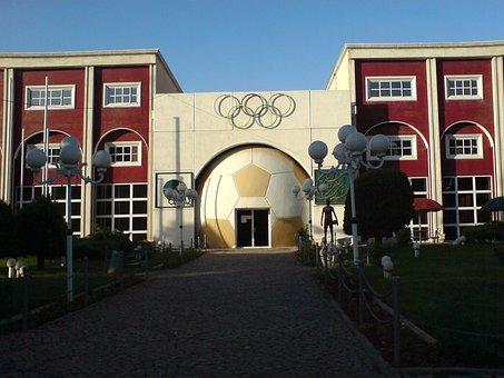 Iran, Nishapur, Building, Sport Center, Complex