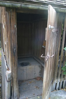Outhouse, Loo, Toilet, Old Toilet, Plumpsklosett