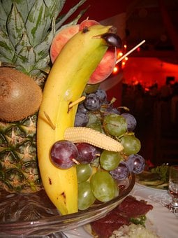 Fruit, Apples, Grapes, Tropical Fruit, Bunch Of Grapes