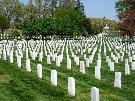 Arlington National Cemetery, Washington Dc, Veterans