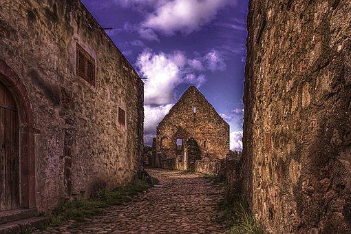 Castle, Old, Masonry, Architecture, Historically, Stone