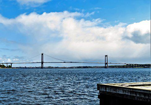 Bridge, Building, Architecture, Denmark