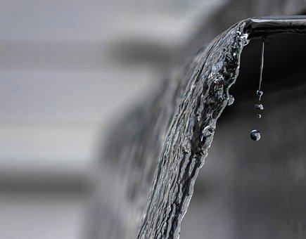 Water, Drip, Flowing, Fresh