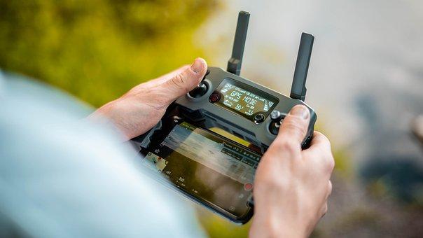 Remote Control, Drone Remote Control, Drone, Robot