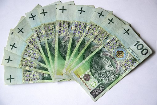 Euro Banknotes, Polish Banknotes, Money, Currency