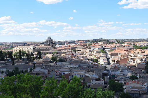 Toledo, People, Skyline, Medieval, Architecture, Spain
